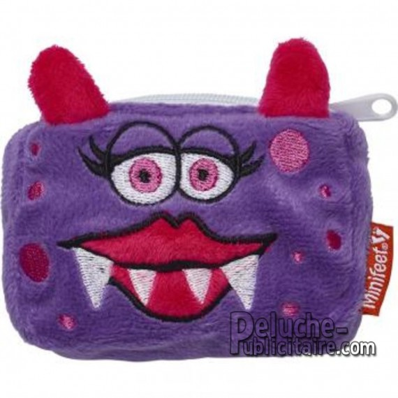 Buy Monster Plush Coin Purse 10 cm. Plush to customize.