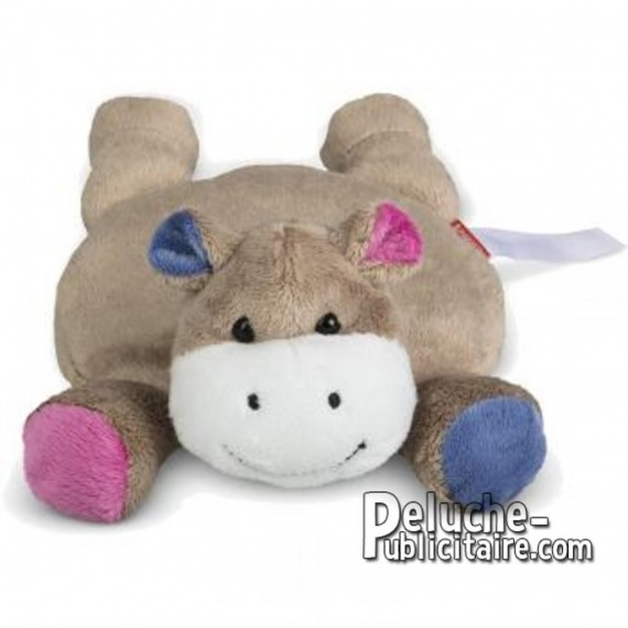 Achat Peluche Hippopotame 28 cm. Peluche à Personnaliser.
