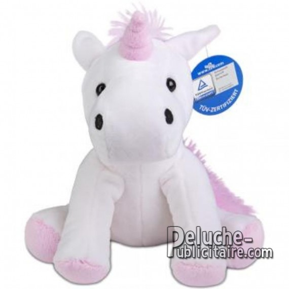 Buy Plush Licorn 18 cm.Plush to customize.