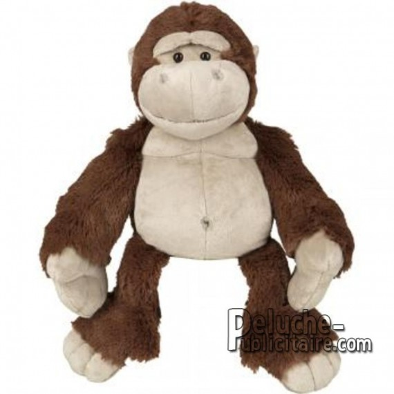 Purchase Gorilla Plush. Plush to customize.