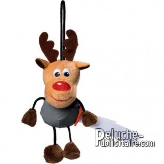 Buy Plush elk 15 cm.Plush to customize.