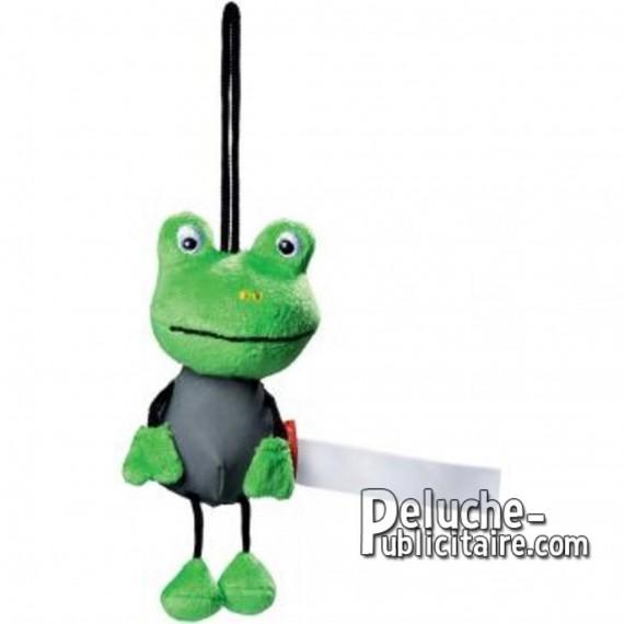 Achat Peluche grenouille 15 cm. Peluche à Personnaliser.