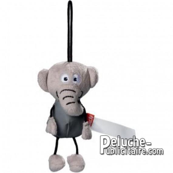 Buy Elephant plush 15 cm.Plush to customize.