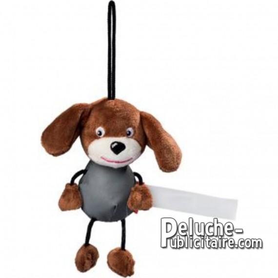 Achat Peluche chien 15 cm. Peluche à Personnaliser.