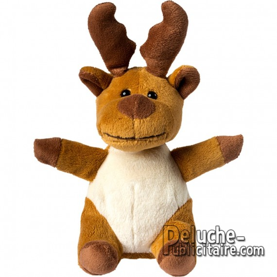 Purchase Elk plush 14 cm. Plush to customize.