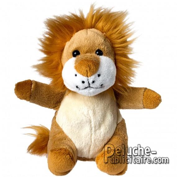 Achat Peluche Lion 14 cm. Peluche à Personnaliser.