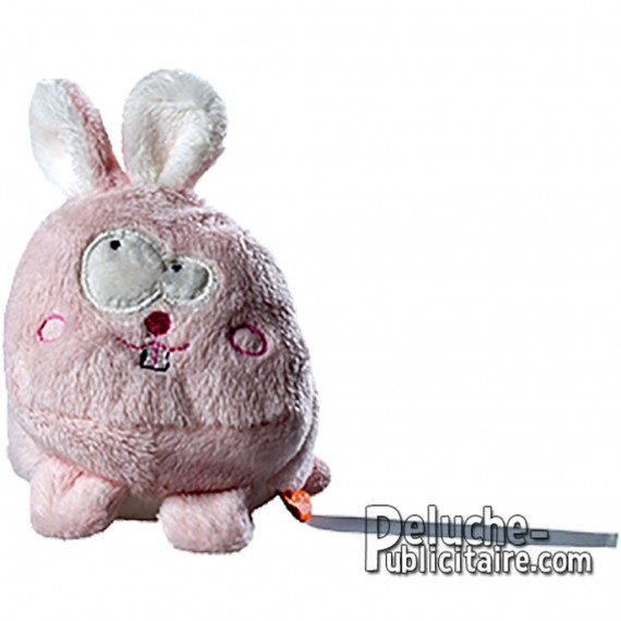 Purchase Rabbit Plush 70x70mm. Plush to customize.