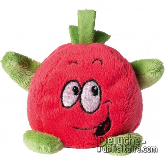Achat Peluche Pomme 7 cm. Peluche à Personnaliser.