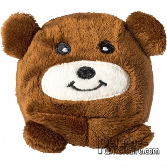 Purchase Bear Plush 70x70mm.Plush to customize.
