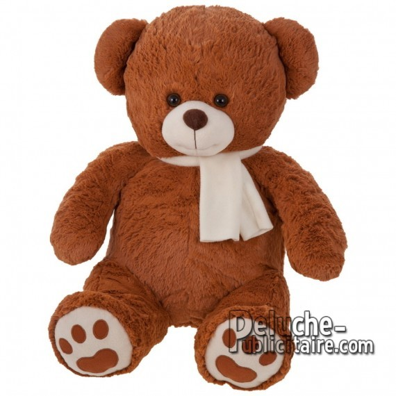 Purchase Bear Plush 46 cm.Plush Advertising Bear to Personalize.Ref: 1144-XP