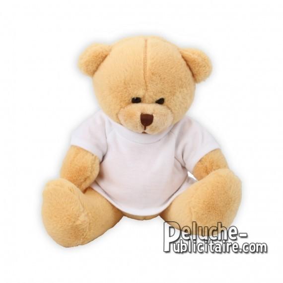 Purchase Bear Plush 17 cm.Plush Advertising Bear to Personalize.Ref: XP-1145