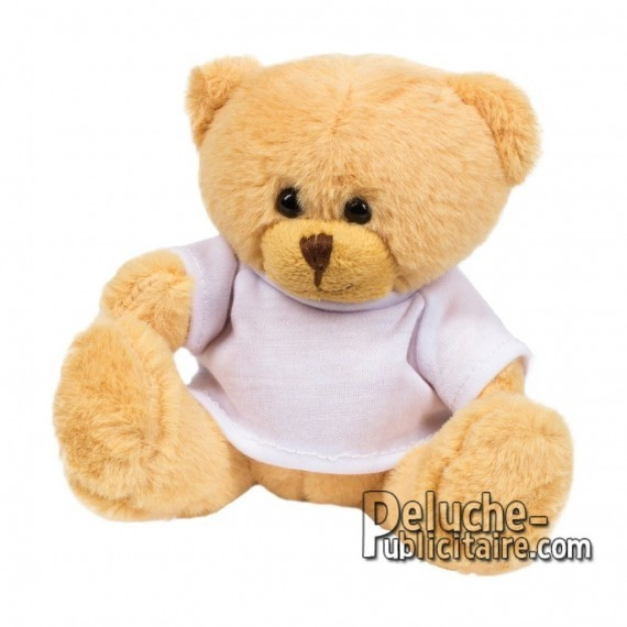 Purchase Bear Plush 12 cm. Plush Advertising Bear to Personalize. Ref: 1147-XP