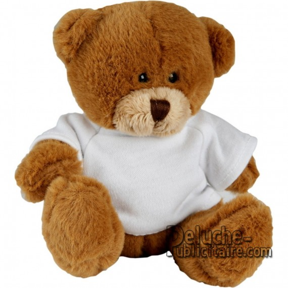 Purchase Bear Plush 12 cm. Plush Advertising Bear to Personalize. Ref: XP-1148
