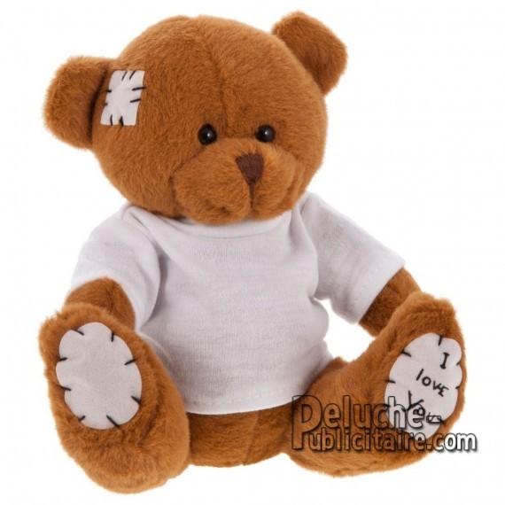 Purchase Bear Plush 15 cm.Plush Advertising Bear to Personalize.Ref: XP-1149