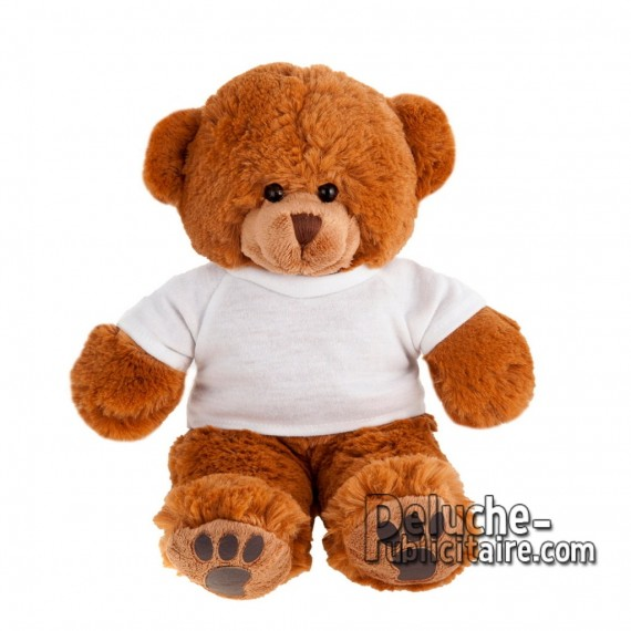 Purchase Bear Plush 20 cm.Plush Advertising Bear to Personalize.Ref: XP-1150
