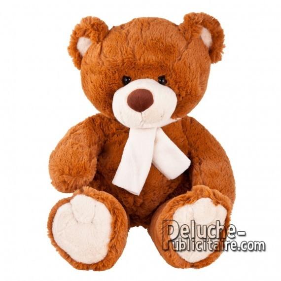 Purchase Bear Plush 33 cm.Plush Advertising Bear to Personalize.Ref: XP-1153