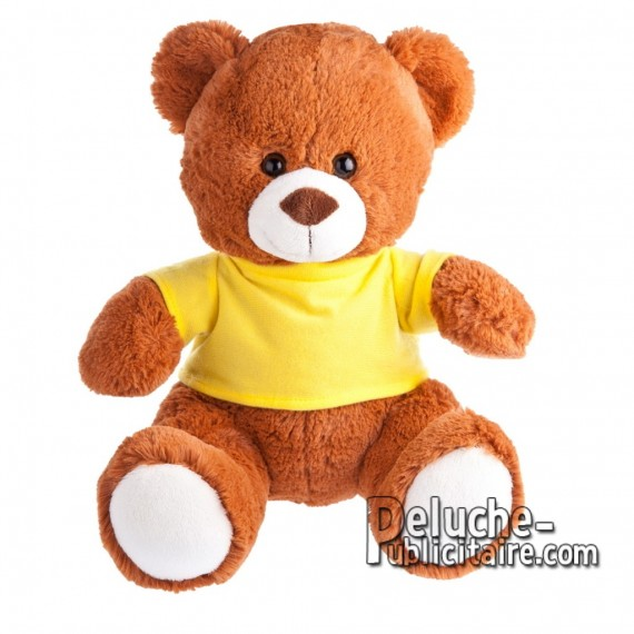 Purchase Bear Plush 27 cm. Plush Advertising Bear to Personalize. Ref: 1155-XP