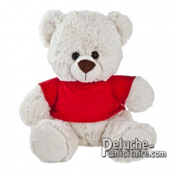 Purchase Bear Plush 27 cm.Plush Advertising Bear to Personalize.Ref: XP-1156