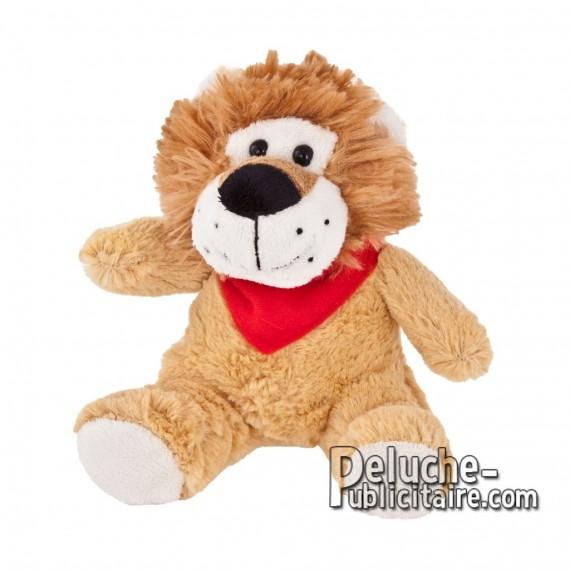 Achat Peluche Lion 15 cm. Peluche Publicitaire Lion à Personnaliser. Ref:XP-1157