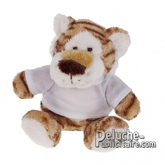 Purchase Tiger Plush 16 cm.Tiger Plush Toy to Personalize.Ref: XP-1158