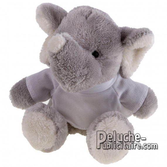Buy Elephant Plush 16 cm. Plush Advertising Elephant Personalized. Ref: XP-1161