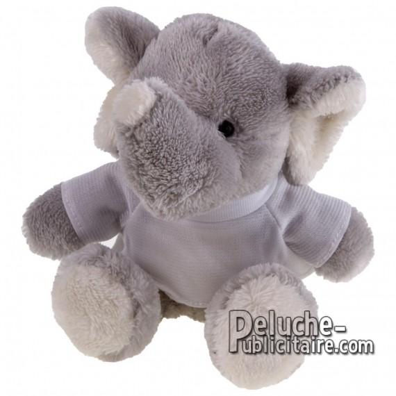 Achat Peluche Éléphant 16 cm. Peluche Publicitaire Éléphant à Personnaliser. Ref:XP-1161