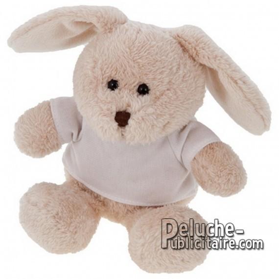 Buy Rabbit Plush 16 cm.Plush Advertising Rabbit to Personalize.Ref: XP-1167