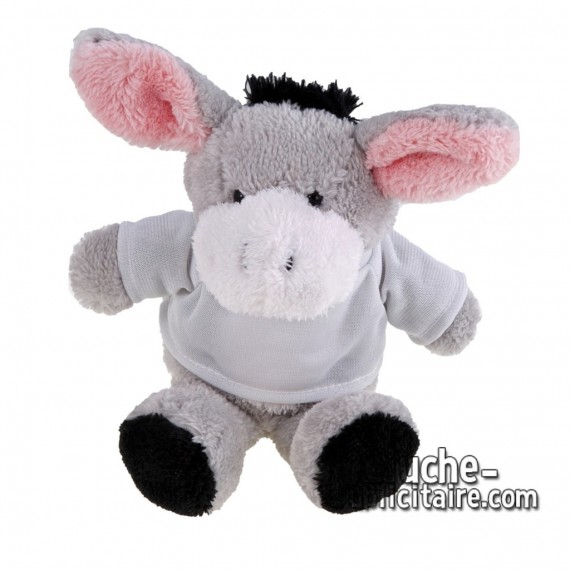 Buy Plush Donkey 16 cm. Plush Advertising Donkey to Personalize. Ref: XP-1170