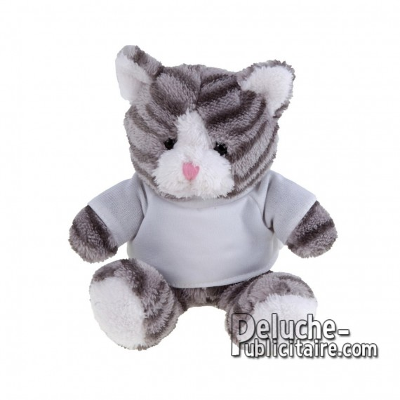 Purchase Cat Plush 16 cm. Plush Advertising Cat to Personalize. Ref: XP-1171
