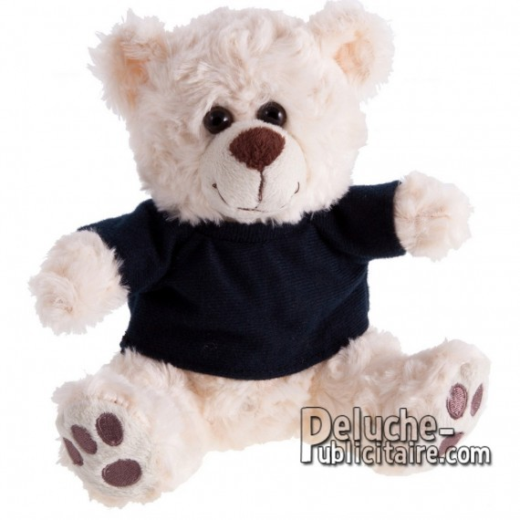 Purchase Bear Plush 18 cm.Plush Advertising Bear to Personalize.Ref: 1172-XP