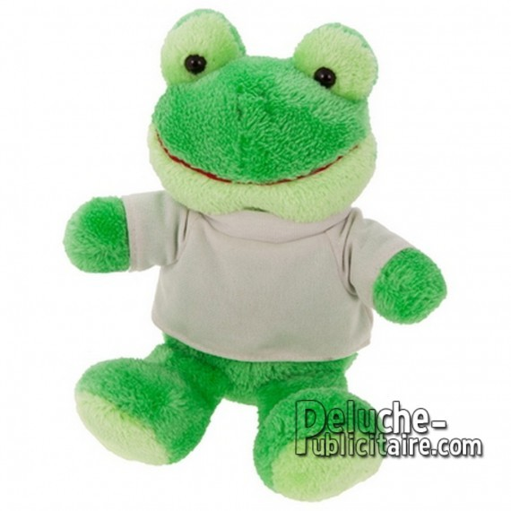 Purchase Frog Plush 16 cm. Frog Plush Toy to Personalize. Ref: 1174-XP