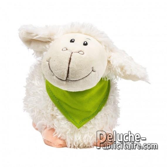 Achat Peluche Moutons 23 cm. Peluche Publicitaire Moutons à Personnaliser. Ref:XP-1175