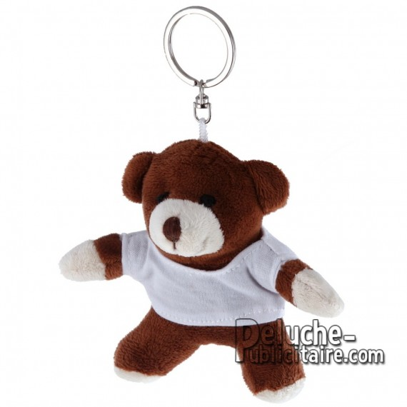 Buy Plush Keychain Bear 10 cm. Plush Advertising Bear to Personalize. Ref: 1184-XP