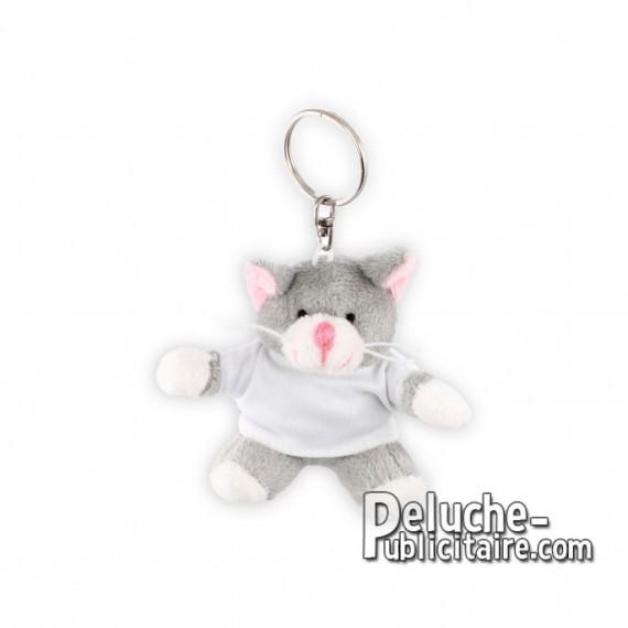 Buy Plush Cat Keychain 10 cm.Plush Advertising Cat to Personalize.Ref: XP-1185