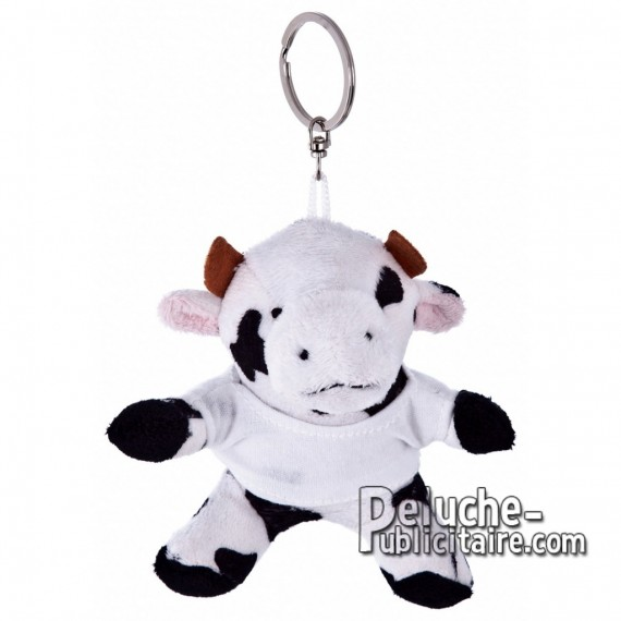 Buy Plush Keychain Cow 9 cm. Plush Advertising Cow to Personalize. Ref: XP-1187