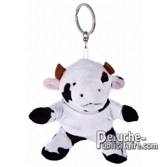 Buy Plush Keychain Cow 9 cm.Plush Advertising Cow to Personalize.Ref: XP-1187