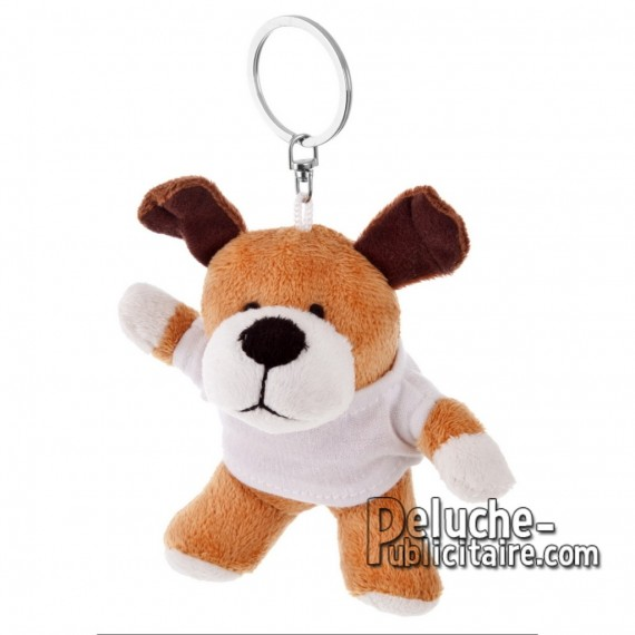 Buy Plush Keychain Dog 9 cm. Plush Advertising Dog to Personalize. Ref: 1188-XP