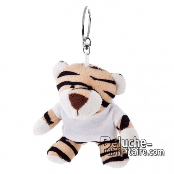 Buy Plush Keychain Tiger 10 cm.Tiger Plush Toy to Personalize.Ref: 1189-XP