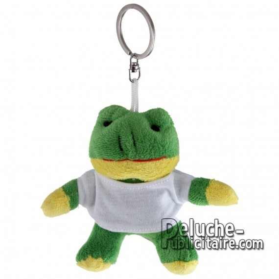 Buy Plush Keychain Frog 10 cm. Frog Plush Toy to Personalize. Ref: 1197-XP