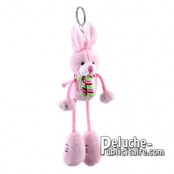 Buy Plush Keychain Rabbit 17 cm.Plush Advertising Rabbit to Personalize.Ref: 1199-XP
