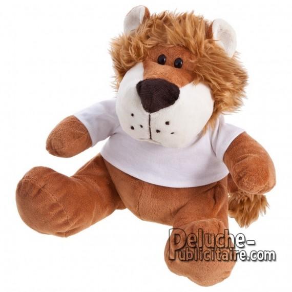Achat Peluche Lion 25 cm. Peluche Publicitaire Lion à Personnaliser. Ref:XP-1202