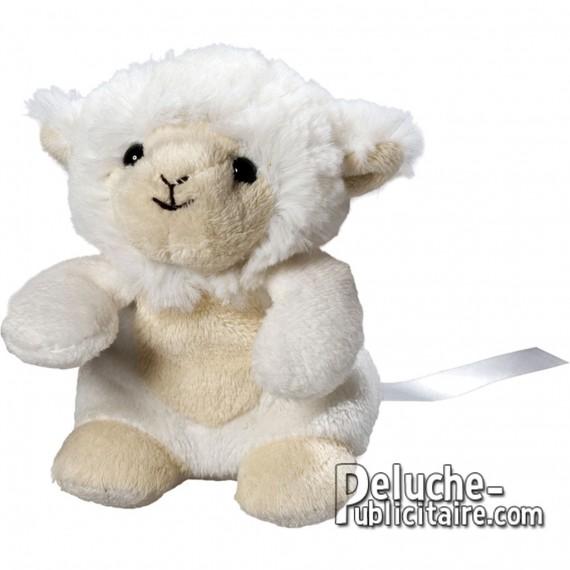 Achat Peluche Mouton 12 cm. Peluche à Personnaliser.