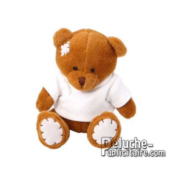 Purchase Bear Plush 15 cm. Plush Advertising Bear to Personalize. Ref: XP-1207