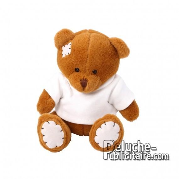 Purchase Bear Plush 15 cm.Plush Advertising Bear to Personalize.Ref: XP-1207