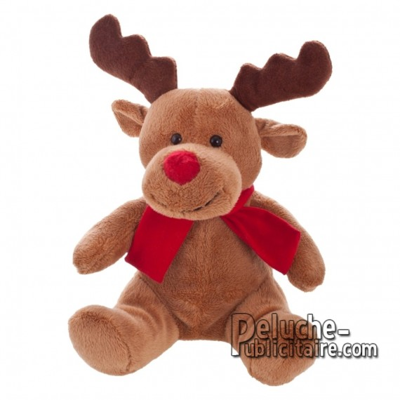 Purchase Reindeer Plush 18 cm.Reindeer Plush Toy to Personalize.Ref: XP-1216