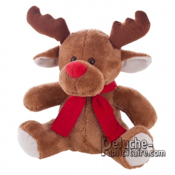 Purchase Reindeer Plush 28 cm. Reindeer Plush Toy to Personalize. Ref: XP-1217