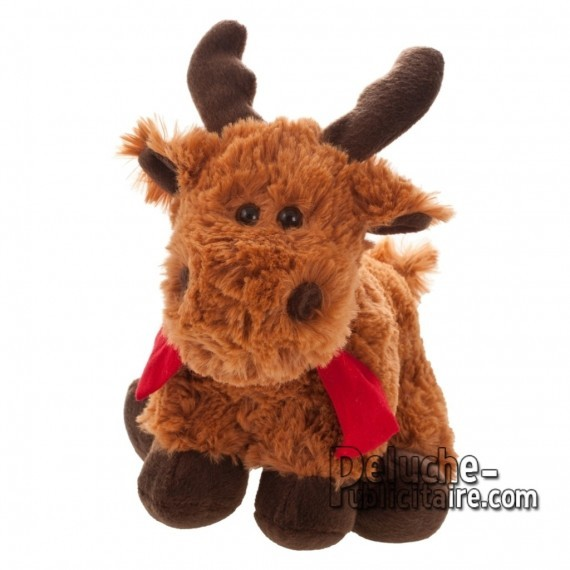 Purchase Reindeer Plush 20 cm.Reindeer Plush Toy to Personalize.Ref: XP-1218