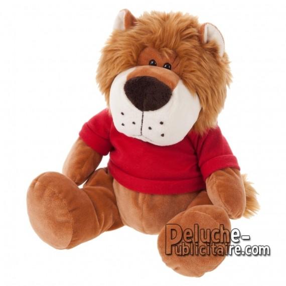 Achat Peluche Lion 25 cm. Peluche Publicitaire Lion à Personnaliser. Ref:XP-1220