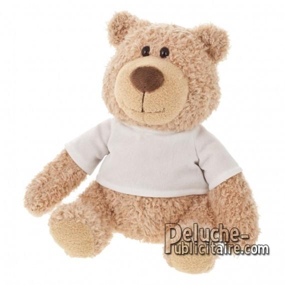 Purchase Bear Plush 20 cm.Plush Advertising Bear to Personalize.Ref: XP-1221