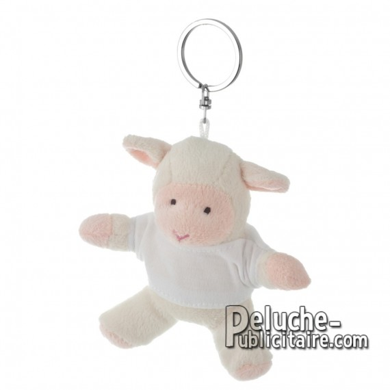 Buy Plush Keychain Sheep 10 cm. Plush Advertising Plush Personalized. Ref: XP-1222
